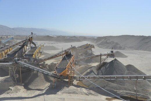 افزایش غیرقانونی قیمت شن و ماسه در خراسان شمالی