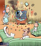 ببینید: آخرین وضعیت مردم در قرنطینه خانگی با تلویزیون!