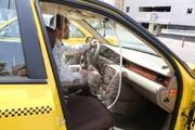 نصب فضاهای جداکننده راننده و مسافر در تاکسیهای پایتخت /تصاویر