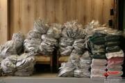 تولید روزانه ۱۰۰۰ دست لباس کادر درمانی توسط جهادگران جامعه القرآن کرج