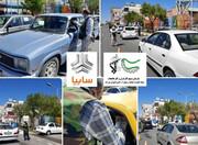 توزیع روزانه ۱۰ هزار ماسک رایگان و ضدعفونی در منطقه ۲۱ تهران