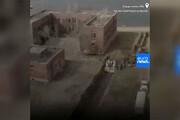 ببینید | تصاویر پهپادی تکان دهنده یورو نیوز از دفن دسته جمعی قربانیان کرونا توسط زندانیان امریکایی