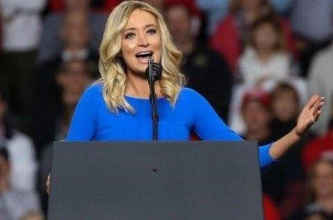 کایلی مک انانی سخنگوی کاخ سفید میشود/ عکس