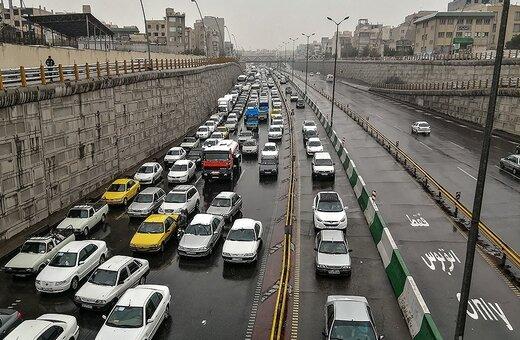 آخرین وضعیت ترافیک صبحگاهی معابر در تهران