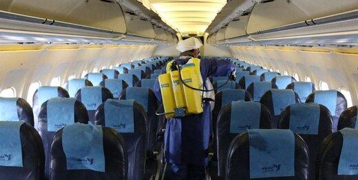 سازمان هواپیمایی: توقف ۷۵ تا ۱۰۰ درصدی پروازهای برخی فرودگاههای کشور به دلیل کرونا