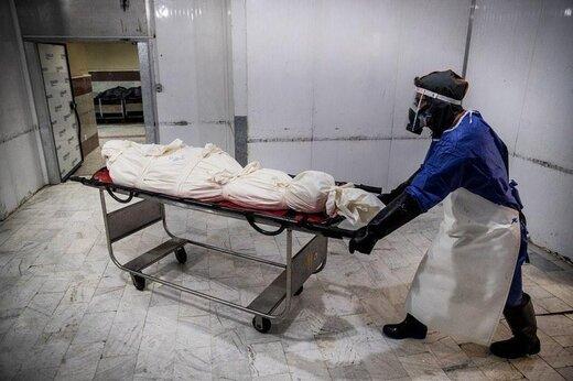 جدیدترین قربانیان کرونا در آرامستان