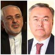 گفتگوی تلفنی ظریف با همتای قزاقستانی
