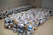 توزیع هزار و ۵۰۰ پک بهداشتی در بخش وشمگیر گلستان