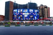 ببینید | جدیدترین دیوارنگاره میدان ولیعصر با حضور ادیان مختلف