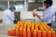 تهیه روزانه هزار بطری آبمیوه در آستان کریمه اهلبیت(ع) برای توزیع بین بیماران و کادر درمانی