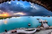 فیلم/جزایر زیبای ناز قشم بدون حضور مردم
