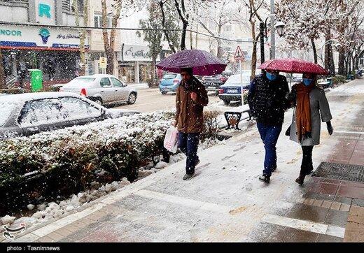 تا دوشنبه آینده آسمان ایران بارانی است