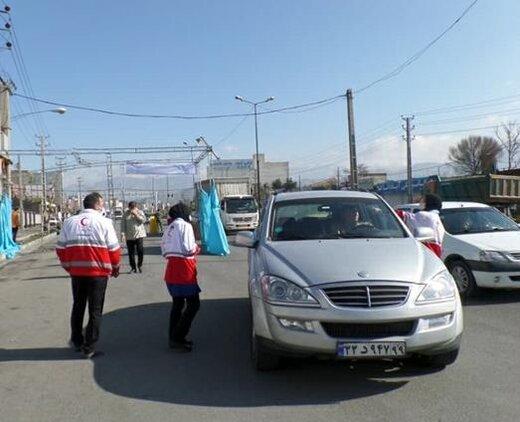 کاهش ۵۴درصدی تردد خودروها در استان البرز
