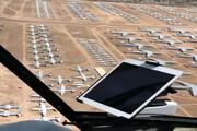 ببینید | گورستان هواپیماها در صحرای آریزونا !