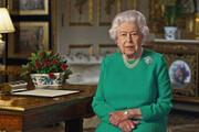 عکس | ملکه انگلستان سوژه نقاشی کرونایی شد