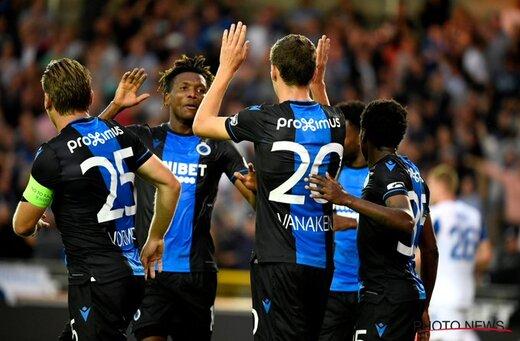 احتمال گرفتن عنوان قهرمانی ژوپیلر لیگ بلژیک از کلوب بروژ