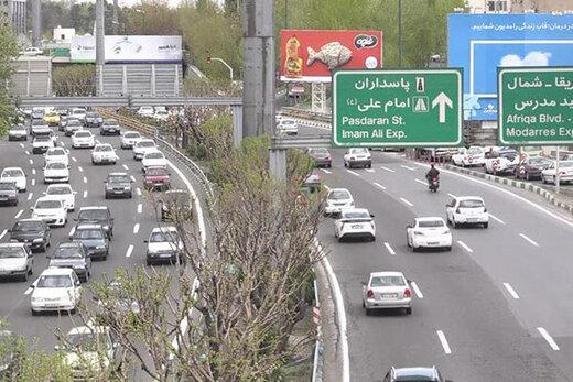 تشریح اقدامات ترافیکی برای شنبه کرونایی در پایتخت