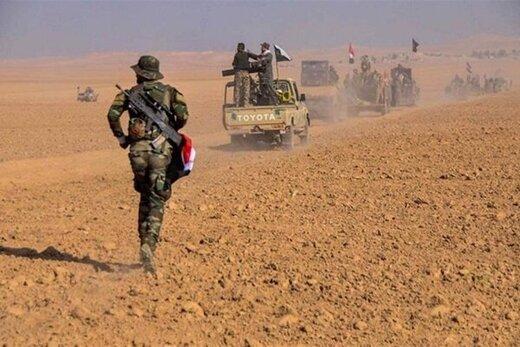 عملیات حشد شعبی برای پاکسازی مرزهای اردن و عربستان