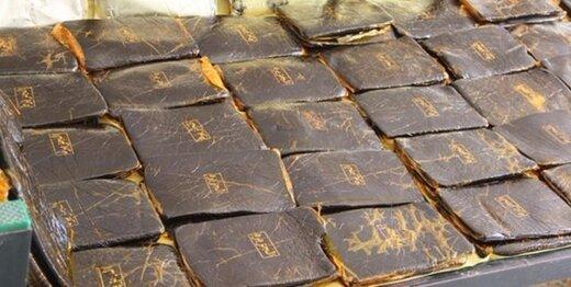 کشف بیش از ۹۱ کیلوگرم حشیش در عملیات مشترک پلیس البرز و هرمزگان