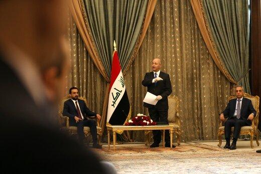 ببینید چه کسانی در معرفی نخست وزیر جدید عراق حضور داشتند