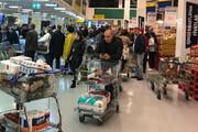 ببینید | هجوم مردم ترکیه به فروشگاهها پس از اعلام قرنطینه سراسری
