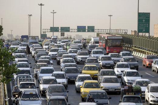 ترافیک به معابر اصلی و بزرگراهی پایتخت بازگشت