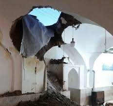 ۴حجره از بازار تاریخی اراک تخریب شد