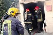 بیمارستان مخصوص کرونا در اهواز آتش گرفت