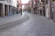 فیلم | به این میگن قرنطینه واقعی؛ خیابان معروف و شلوغ استانبول را ببینید!