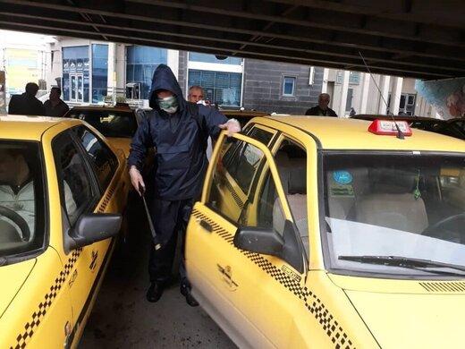 ۱۳ راننده تاکسی در تهران بر اثر ابتلا به کرونا جان باختند