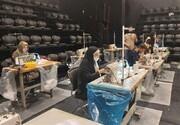 تالار حافظ کارگاه تولید ماسک شد