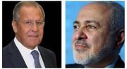 ظريف ولافروف یتباحثان حول آخر التطورات في أفغانستان واليمن