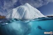 عظمت کوه های یخ از زاویه ای که هرگز ندیده اید! +تصاویر