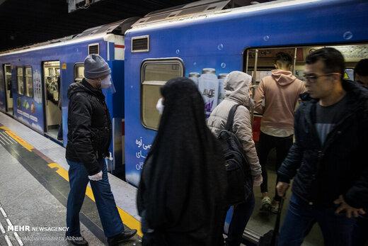 مترو در روزهای اخیر چند هزار مسافر داشته است؟