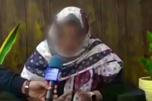 ببینید   اولین مصاحبه دختر جنجالی خیابان اندرزگو