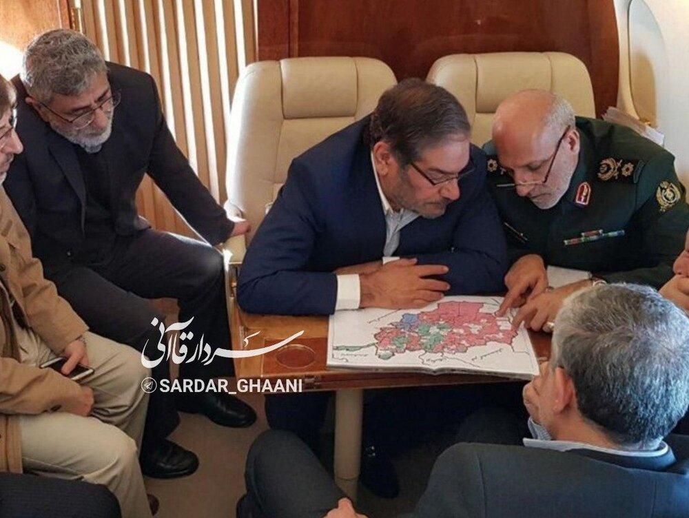 تصویری ویژه از سردار قاآنی در سفر به افغانستان