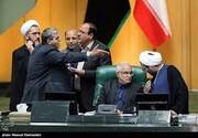 جدال لفظی دو نماینده مجلس/کواکبیان: چطور چنین تصمیمی گرفتید؟/مصری: مگر سر جالیز است فریاد میزنید /حواشی صحن مجلس