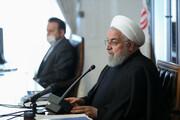 روحانی : السلع الاساسیة في البلاد مؤمنة حتى نهاية العام