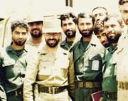 عکس   فرماندهان جوان سپاهی از حاج قاسم تا حاج احمد در کنار سپهبد شهید ارتشی