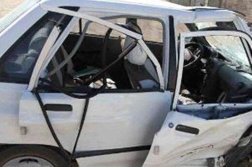 یک کشته بر اثر واژگونی پراید در شیراز