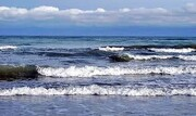 سواحل گلستان مواج میشود