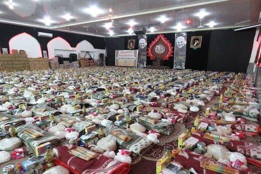 توزیع ۸۰۰ بسته معیشتی میان سیلزدگان جنوب کرمان توسط یک مؤسسه قرآنی