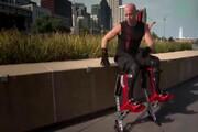ببینید | اختراع پاهای شترمرغی و چندبرابر شدن سرعت دویدن شما