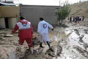 امدادرسانی هلال احمر به ۳۳۰۰ نفر در حوادث جوی اخیر