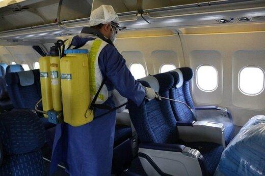 مسافران مشکوک به کرونا حق ورود به هواپیما ندارند