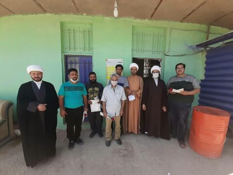 تقدیر مدرسه علمیه امام صادق(ع) خرمشهر از غسالان باغ رضوان