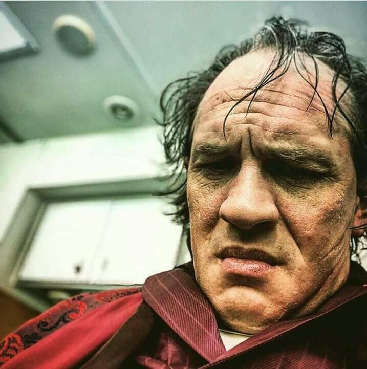 نخستین تصاویر تام هاردی در نقش آل کاپون منتشر شد///////////////////////////سه شنبه