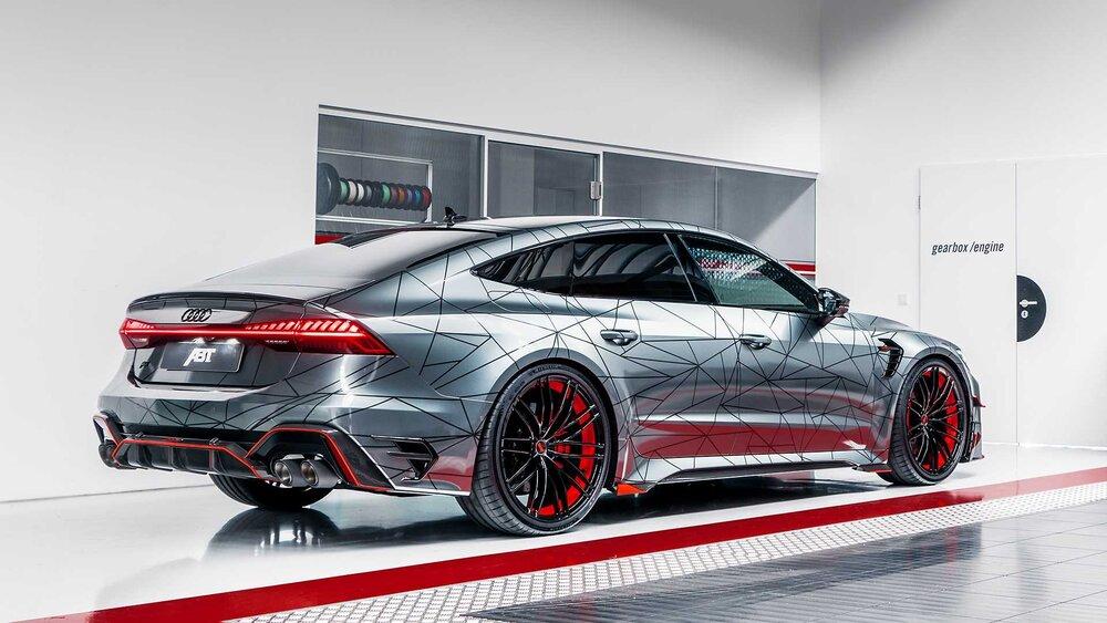 Audi RS7 با تیونینگ ABT