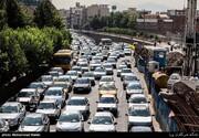 ببینید | ترافیک سنگین در خیابانهای تهران
