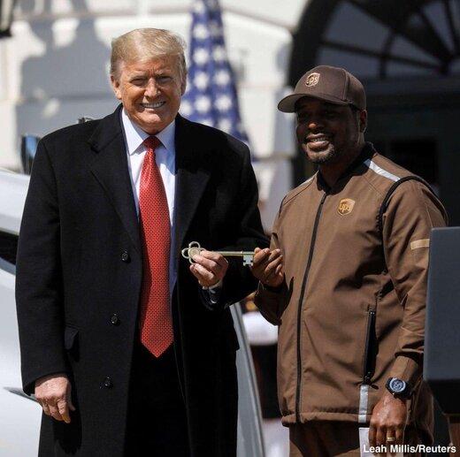 ترامپ:  کامیون داران آمریکایی منبع حیات اقتصاد هستند